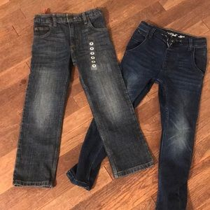 NEW 2 Pairs of Boy's Jeans! Size 6